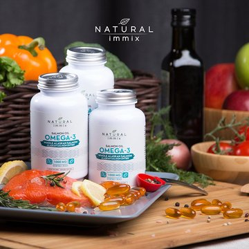 Natural immix - Salmon Oil Omega-3